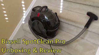 bissell 3624 spotclean pro unboxing review