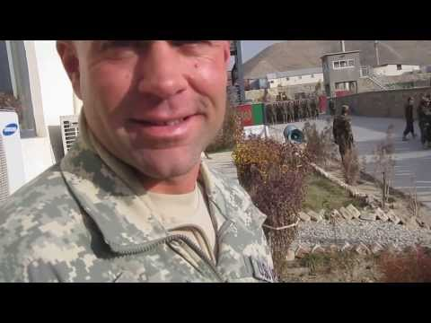 Afghanistan National Army Basic Warrior Training Drill and Ceremony practice
