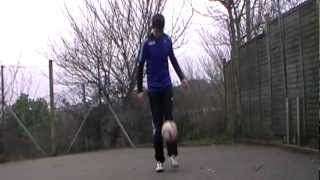 Learn Football Freestyle - Beck ATW Tutorial (BATW)