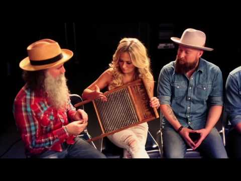 CMT Music Fest - The Washboard Union Teaches Meghan Patrick How to Play the Washboard