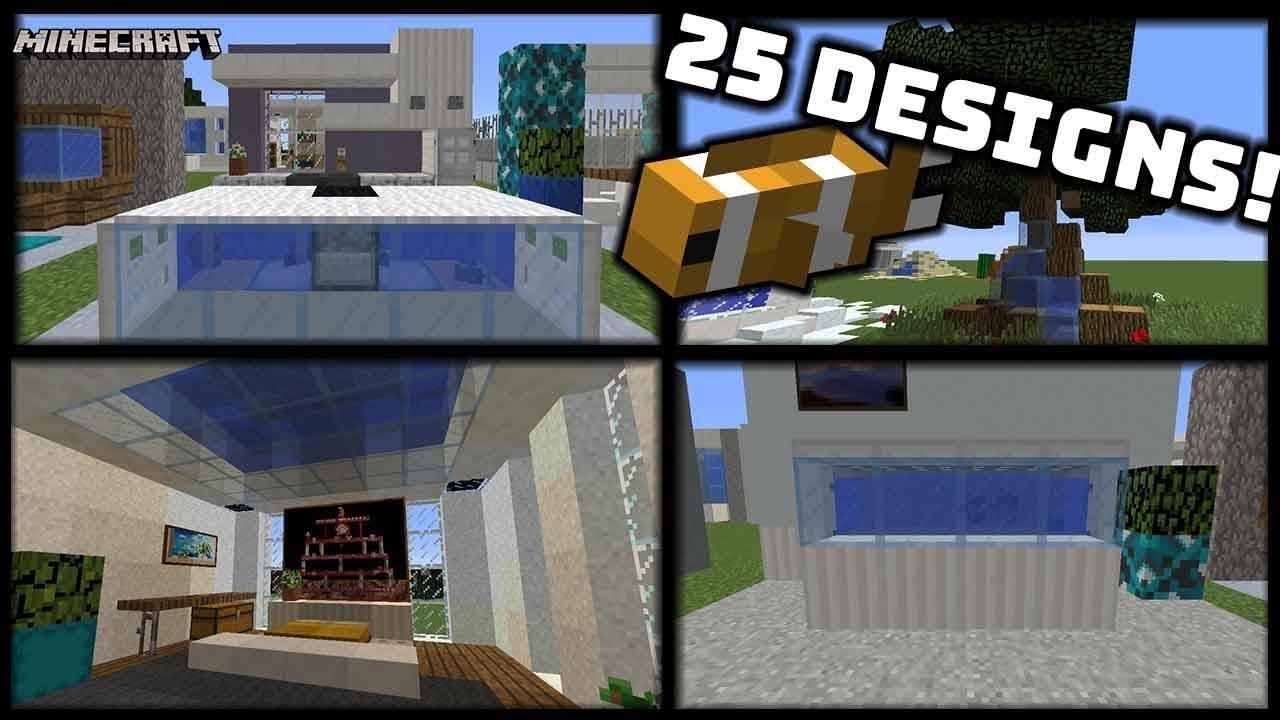 Minecraft 25 Different Aquarium Fish Tank Pond Designs 1 13