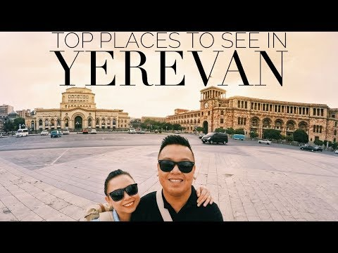TOP PLACES to SEE in YEREVAN - Part One | Armenia Travel Vlog Series