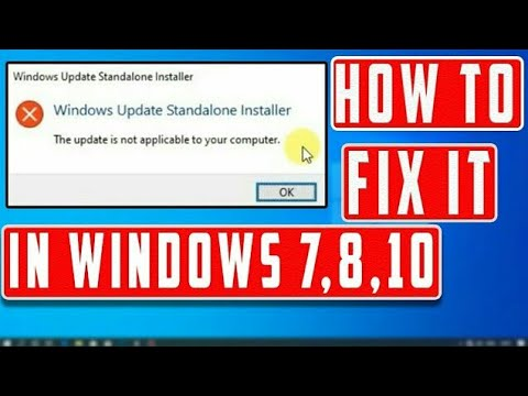 2020 NEW TRICK || HOW TO THE UPDATE IS NOT APPLICABLE TO YOUR COMPUTER || 100% WORKING TRICK WINDOWS