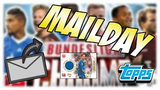 Mailday Time II Brief von Topps ft. Trikotkarte Bundesliga Chrome 13/14
