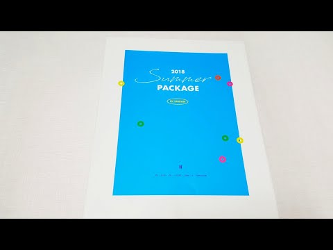 Unboxing Bts 방탄소년단 2018 Summer Package In Saipan