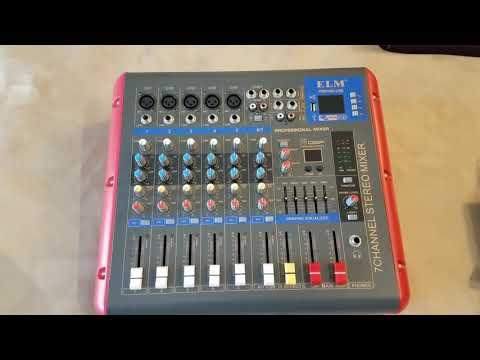 ELM PMR706D-USB Mixer