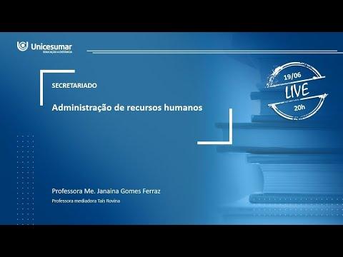 live---aula-2---2ºano---administraÇÃo-de-recursos-humanos