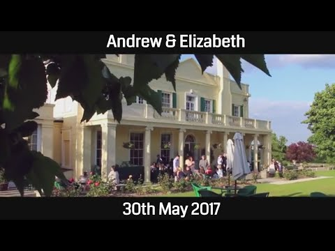 Andrew and Elizabeth: Cinematic Wedding Film at The Lawn in Rochford Essex, UK