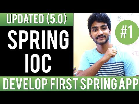 Spring framework tutorial for beginners with examples in eclipse | Why spring inversion of control ?