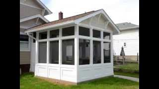 Screened-in-porch Addition & Detached 3 Bay Garage