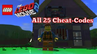 The Lego Movie 2 Video Game All 25 Cheat-Codes - Unlocked