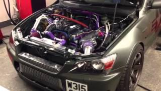 """Squints 1jzgte is200 Single Turbo """"running in setup only"""" 9psi 300bhp"""