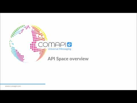 What is a Comapi API space