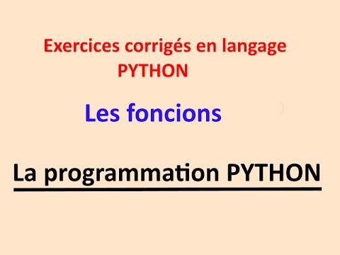 Python pour débutants  initiation aux fonctions