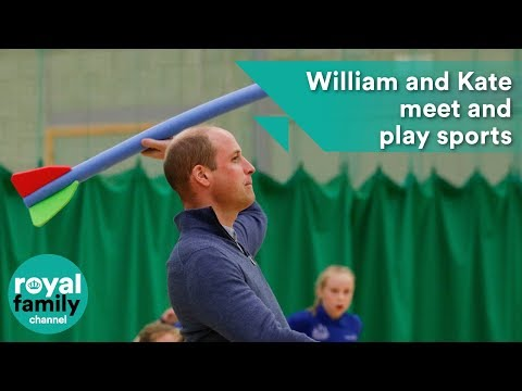 William and Kate meet and play sports with adorable kids at Coach Core