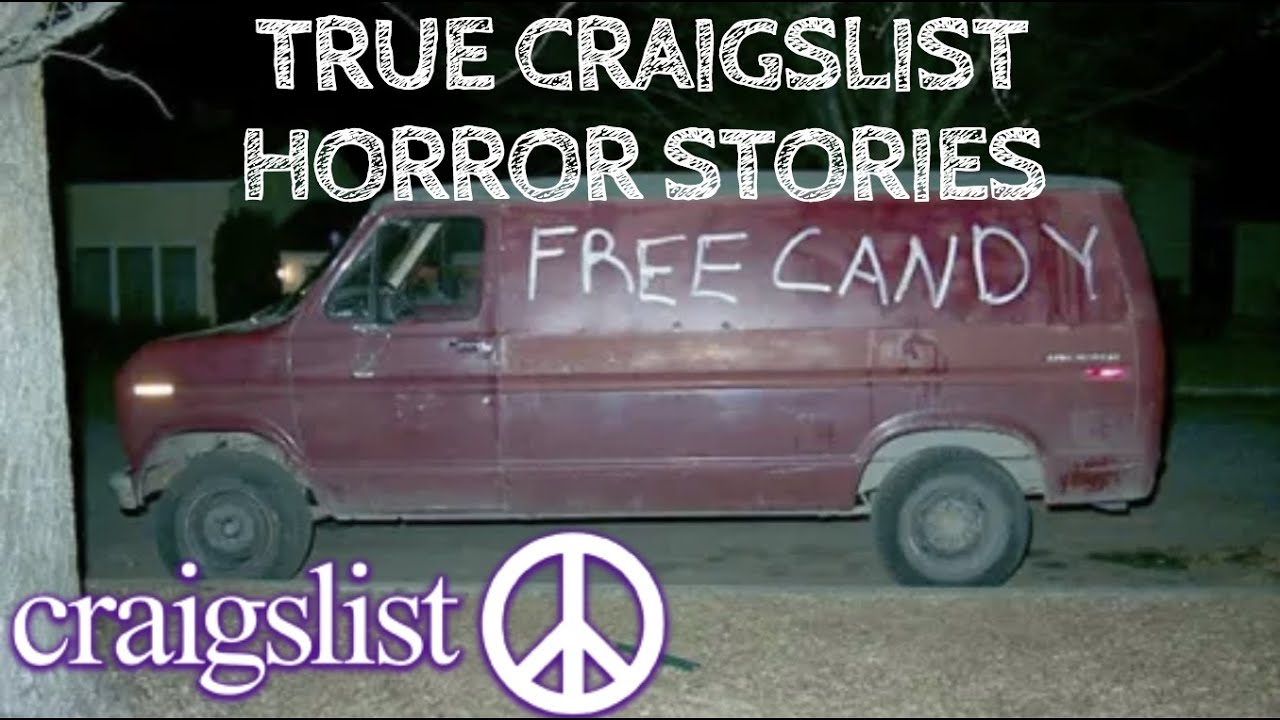 4 True Craigslist Horror Stories (With Rain Sounds) - YouTube