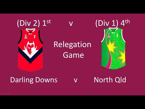Qld AFL Youth Girls 2015 Darling Downs v North Qld