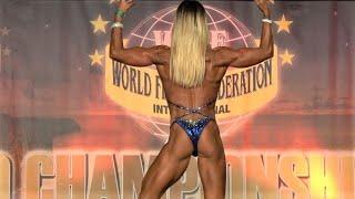 Jessy Chevalier – Competitor No 48 – Women  Athletic - WFF World Championship 2016