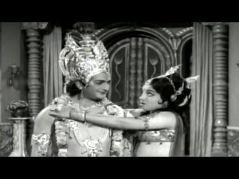 Sri Krishna Vijayam || Anaraadhe Baala Video Song || NTR, Jayalalitha