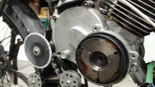 Centrifugal Clutch Installation on the 80cc Chinese 2-stroke motorized bicycle engine