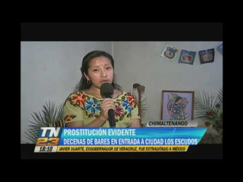 Prostitución evidente en Chimaltenango
