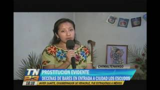 Prostitucin evidente en Chimaltenango