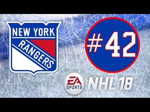 NHL 18 ~ New York Rangers Franchise Mode ~ #42 (1st Line Devin Shore)