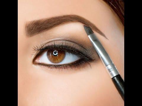❀♡Макияж бровей тенями/Как нарисовать брови тенями❀♡