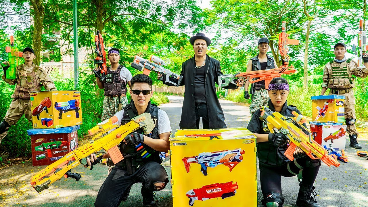 LTT Nerf War : SEAL X Warriors Nerf Guns & Unexpected Revenge Plan Of BOSS Dr.Lee Crazy