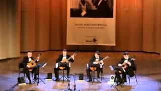 """Frauchi Guitar Quartet - Manuel de Falla - """"Danza ritual del fuego"""""""