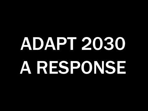 Adapt 2030: A Response