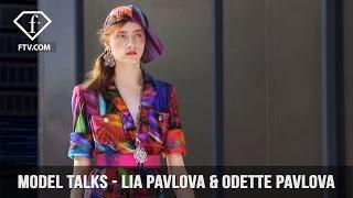 Video Model Talks Paris S/S 17 Lia Pavlova & Odette Pavlova | FashionTV download MP3, 3GP, MP4, WEBM, AVI, FLV Juni 2018