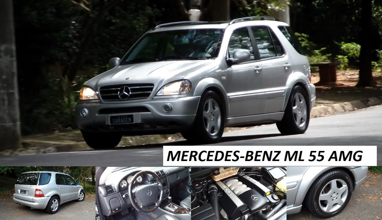 Garagem do bellote tv mercedes benz ml 55 amg youtube for Mercedes benz ml 55