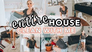 ULTIMATE CLEAN WITH ME! / SPEED CLEAN MY ENTIRE HOUSE / Caitlyn Neier