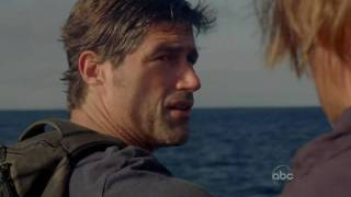 LOST: Jack jumps off the boat [6x13-The Last Recruit]