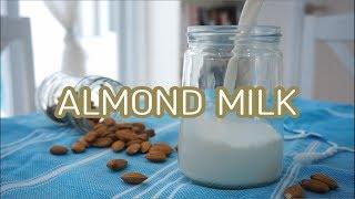 Cara Membuat Homemade Almond Milk