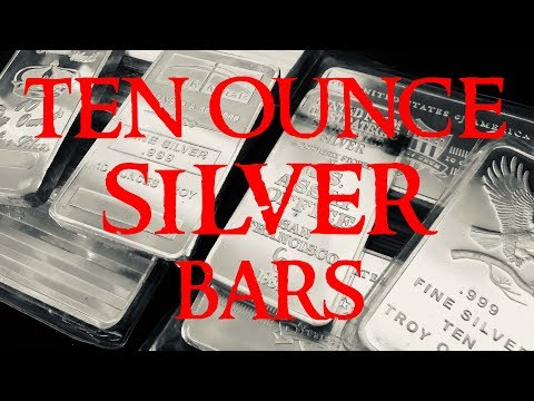 10 Ounce Silver Bars - Are They Good For Silver Stacking?