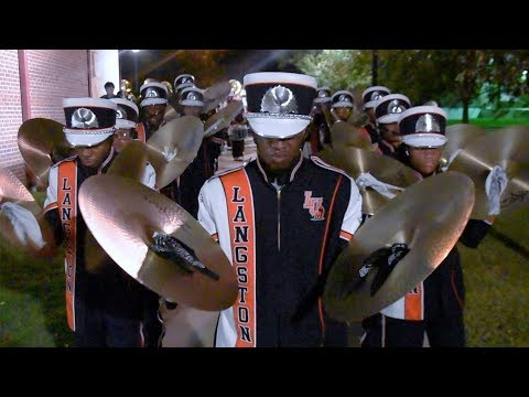 Langston University Marching Out 9-21-19