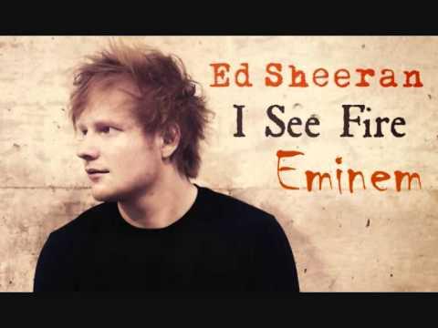 Eminem & Ed Sheeran I see fire