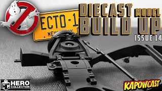 GHOSTBUSTERS ECTO-1 DIECAST BUILD | EAGLEMOSS KIT 14