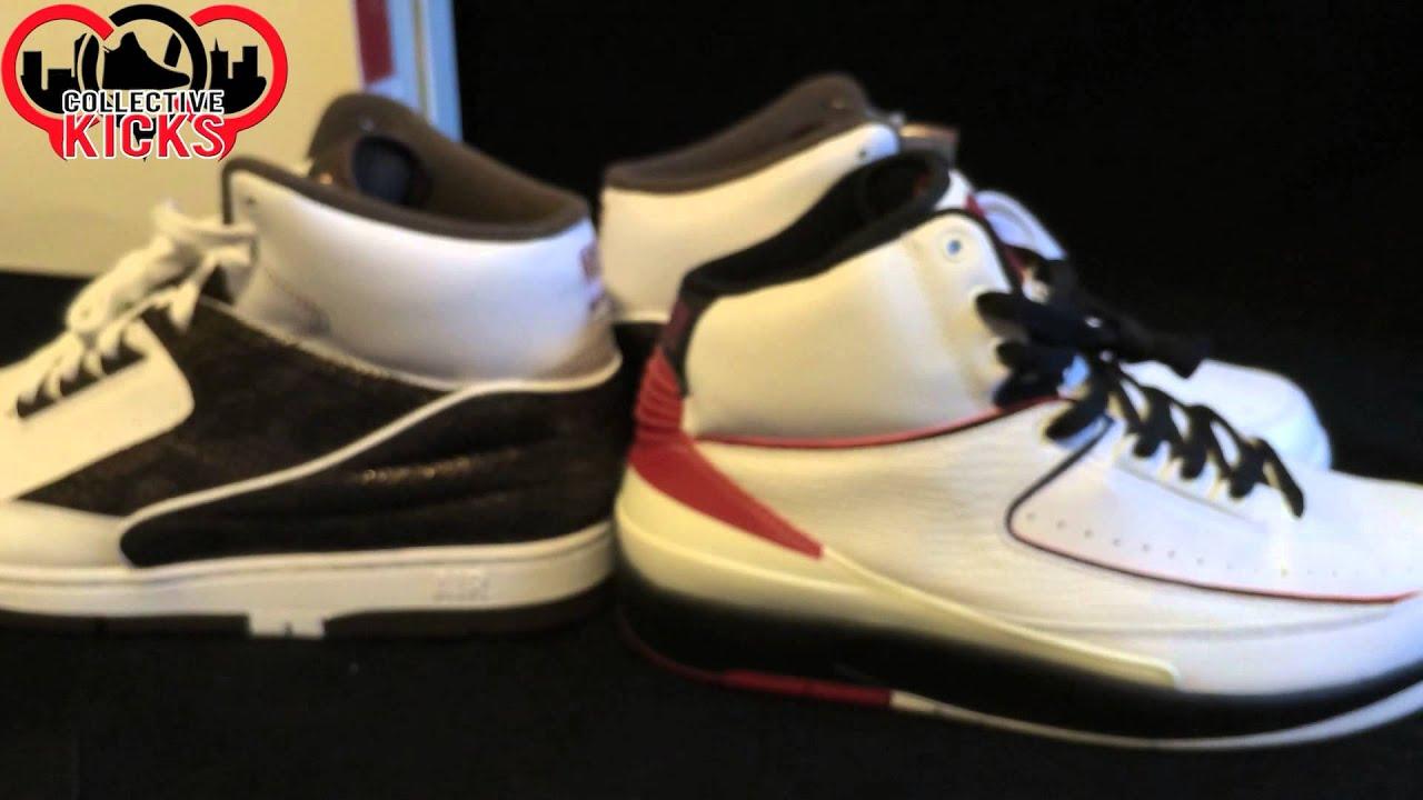 68ad7e304e83ba Outlet Steal  Air Python LUX For  89! Comparison To Air Jordan 2 ...