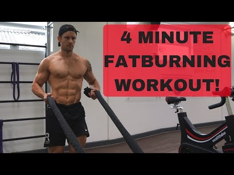 4 Minute Fat Burning Battle Rope Finisher Workout! #CrockFit