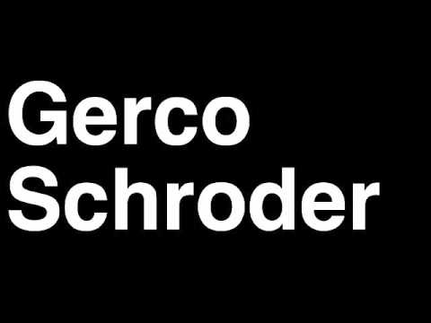 How to Pronounce Gerco Schroder Netherlands Silver Medal Equestrian Jumping London 2012 Olympics