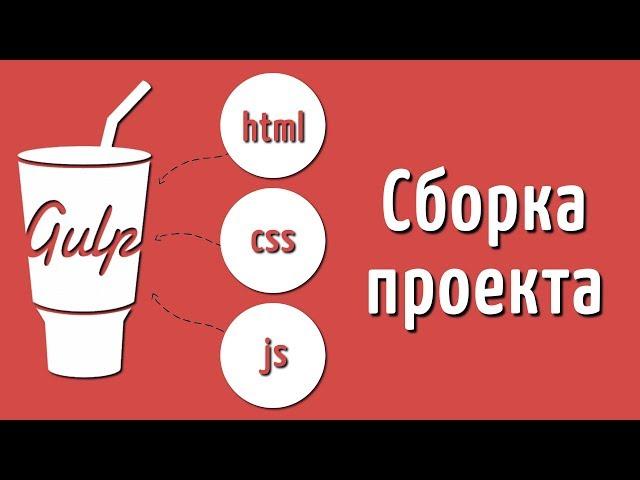 Сборка проекта на Gulp 4, Подробный видео урок по сборщику Gulp