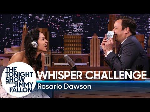 Whisper ChallengewithRosario Dawson