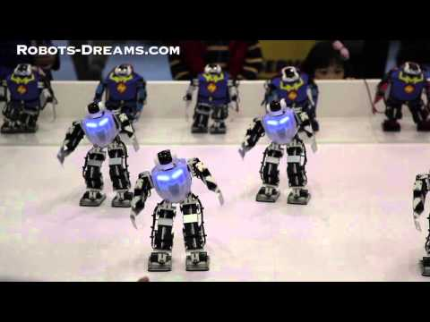 RobotWorld 2013: Humanoid Robot Dance