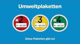 Umweltplaketten - Ein Überblick I Kennzeichenbox.de