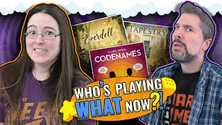 Who's Playing What Now?! + Top 10 Popular Board Games January 2020