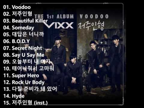 VIXX 1st Album VOODOO CD Full