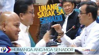 HANGANG-HANGA ang mga senador kay Mayor Isko Moreno sa Senate hearing